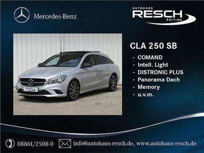 gebraucht Mercedes CLA250 Shooting Brake Urban COMAND Distronic