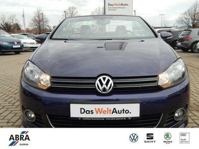 gebraucht VW Golf Cabriolet Golf VI Cabriolet 2.0 TDI BMT