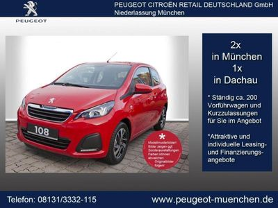gebraucht Peugeot 108 PureTech 82 Allure