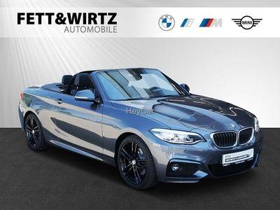 gebraucht BMW 220 i Cabrio M Sport 18 NaviProf