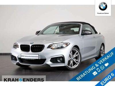 gebraucht BMW 218 d M Sport+Navi+18'' LM Radsatz+PDC+SHZ