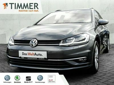 gebraucht VW Golf VII Variant 1.6 TDI COMFORTLINE DSG AHK NA Kombi (Grau), EZ 02.2018 38811 km, 85 kW (116 PS)