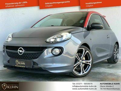 gebraucht Opel Adam S*CARBON*TEMPOMAT*18 ZOLL*LED*2.HAND*EURO6*