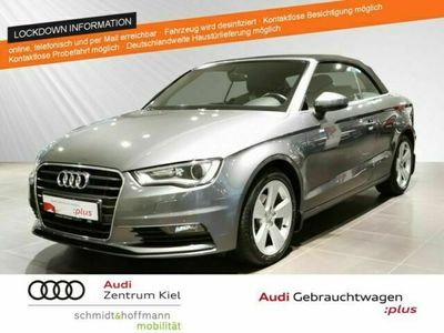 gebraucht Audi A3 Cabriolet 1.4 TFSI Ambition Navi Xenon Sitzhz