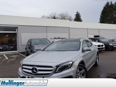 gebraucht Mercedes GLA220 CDI 4M 7G-DCT AMG Line Comand Pano RÃKam