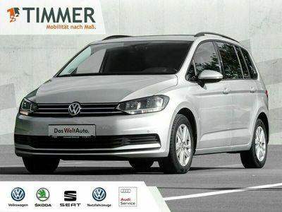 gebraucht VW Touran 1.5 TSI Comfort DSG ACC AHK 7 SITZER Van, Kleinbus (Silber), EZ 07.2020 32203 km, 110 kW (150 PS)