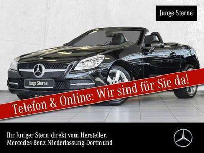 gebraucht Mercedes SLK200 ILS Airscarf Navi PTS Sitzh Temp