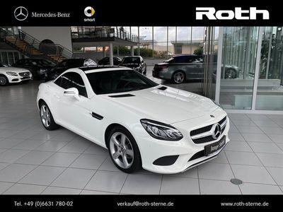 gebraucht Mercedes 180 SLCNavi+Pano.-Dach+Autom.+LED+Airscarf