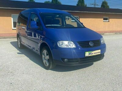gebraucht VW Caddy Maxi Life 1.6 Team *Climatic*PDC*AHK*7-Sitzer*