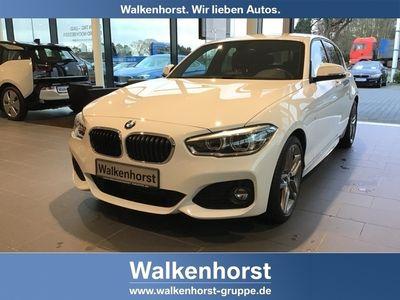 gebraucht BMW 116 i M Sport LED Navi SHZ 18 Zoll Klimaa.
