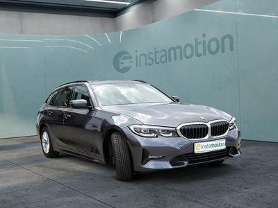 gebraucht BMW 320 320 dA Touring Sport Line NAVI+LED+AHK+SHZ+KAM+KE