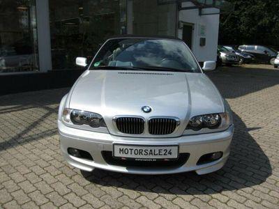 gebraucht BMW 325 Cabriolet Baureihe 3 325 Ci aus 1. Hand, Leder usw.