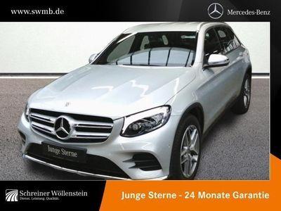 gebraucht Mercedes GLC250 d 4M AMG Ext+Int*LED-ILS*Navi*RKam*eHeck