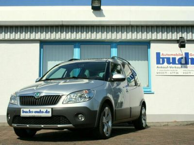 gebraucht Skoda Roomster Scout Plus Edition Panoramadach 1.Hand