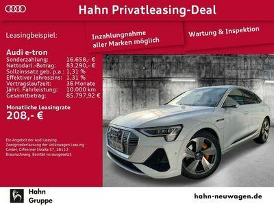gebraucht Audi E-Tron - Sportback S line virt. Außenspiegel, Pano als SUV/Geländewagen/Pickup in Schorndorf