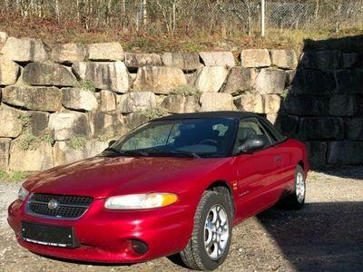 gebraucht Chrysler Stratus 2.0 Sunset als Cabrio/Roadster in Dettlingen