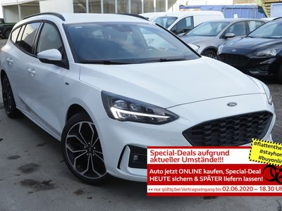 gebraucht Ford Focus SW 1.5 EB 150 Aut. ST-Line LED Nav 18Z SHZ