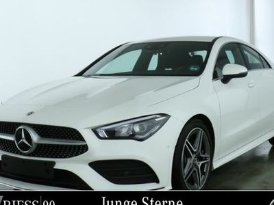 gebraucht Mercedes CLA250 Cp AMG Sport Prem Navi LED MBUX Ambiente
