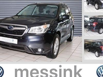 gebraucht Subaru Forester 2.0D Exclusive*Leder*Navi*Allrad*Xenon*Euro6*