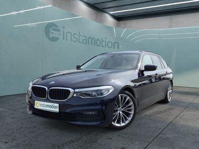 gebraucht BMW 520 520 d Touring Sport Line Navi AHK Glasdach Alarm HiFi