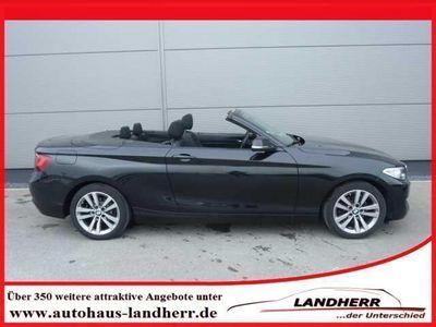 gebraucht BMW 218 218 Cabrio d Cabrio Aut. Advantage *6 Jahre Qualit
