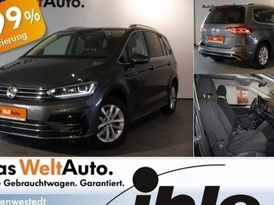 second-hand VW Touran 2,0 TDI DSG Highline 7Sitze Garantie 2022