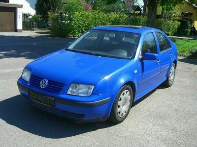 gebraucht VW Bora 1.9TDI Klimaautomatik Tempomat E.SD 1.Hd.