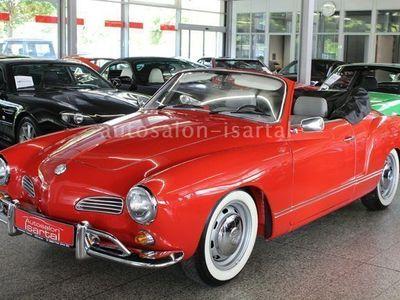 usado VW Karmann Ghia Cabrio - restauriert- Motor neu !