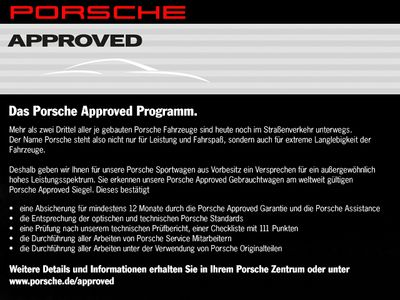 gebraucht Porsche Boxster 20'' Bixenon BOSE Parkass. vo+hi PCM