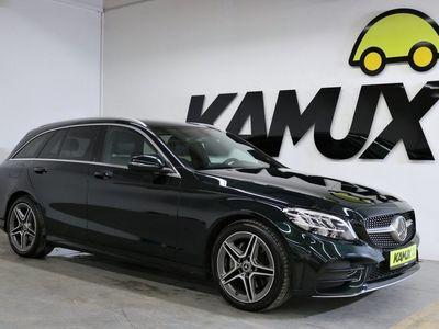 gebraucht Mercedes C200 T AMG +LED +Distronic +Navi +Kamera +Keyless Go