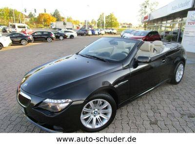 gebraucht BMW 630 Cabriolet i Automatik ***LEDER***