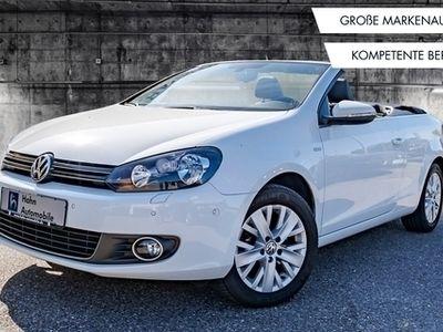 gebraucht VW Golf Cabriolet 2.0TDI Life Navi Sitzh Tempo PDC