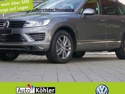 gebraucht VW Touareg Luftfederung /R-Line Exterieur/ Stoffsit D