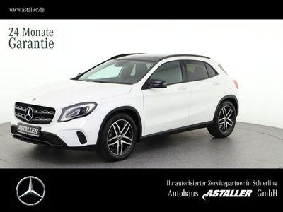 gebraucht Mercedes GLA180 SUV Urban+Night+Pano+360°+DAB+Thermotron