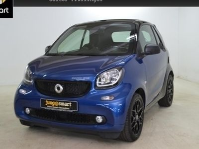gebraucht Smart ForTwo Cabrio 60kWed passion cool&Audio Sport LED