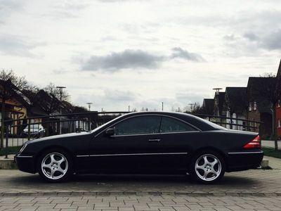 gebraucht Mercedes 500 CL-CoupeLeder Beige Navi Multi