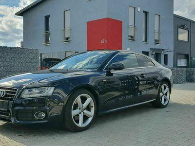 gebraucht Audi A5 Coupe 2.0 TFSI*S-LINE* AUTOMATIK*TEILLEDER* als Sportwagen/Coupé in Augsburg