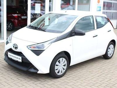 gebraucht Toyota Aygo 5-Türer x-business+RADIO+BLUETOOTH+KLIMA