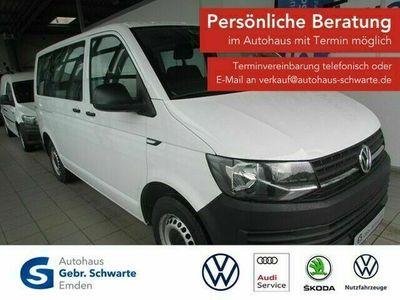 gebraucht VW T6 Kombi 2.0 TDI DSG 9-Sitzer PDC Klima Radio