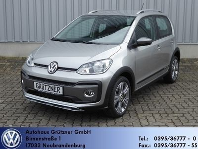 gebraucht VW up! ! cross 1,0 TSI 66kW 90PS PDC, WP, Klima, Tel