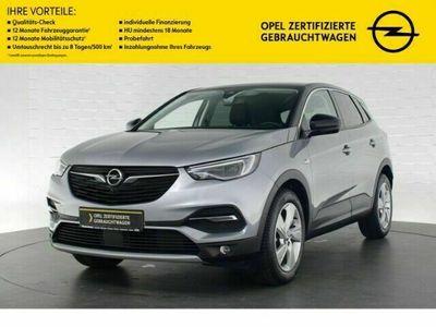 gebraucht Opel Grandland X INNOVATION AUTOMATIK+LED-SCHEINWERFER+NAVI+360GRAD KAMERA+SITZHEIZUNG