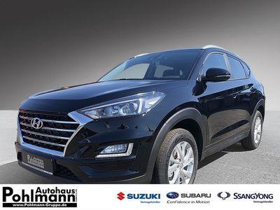 gebraucht Hyundai Tucson Premium 1,6 GDi ISG neues Modell NAVI-Kamera-SHZ-DABSpurhalte