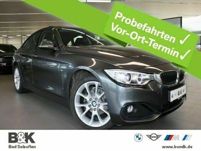 gebraucht BMW 418 Gran Coupé d Sport Line (Navi Xenon Klima)