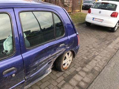gebraucht Nissan Micra Unfall