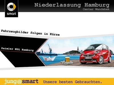 gebraucht Smart ForTwo Coupé 52kW DCT cool&Audio Tempom Klima