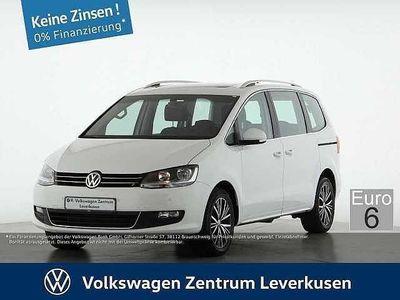 gebraucht VW Sharan 2.0 ALLSTAR 4Mot 7SITZE NAVI PANO AHK ACC
