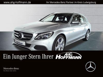 gebraucht Mercedes C350e T Avantgarde+LED+Navi+Airm.+AHK+PDC+SHZ