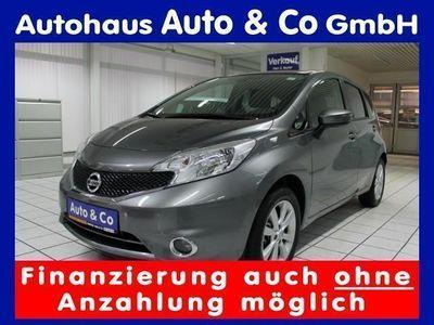 gebraucht Nissan Note 1.2 acenta 1.Hand Navi Sitzheizung Tempomat