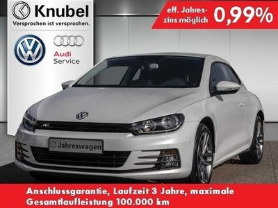 gebraucht VW Scirocco Sport 2.0 TDI DSG R-Line Navi Parkl.ass.