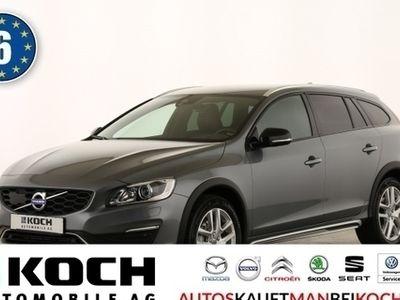 gebraucht Volvo V60 CC Cross CountryV60 D3 Pro Aut. Xenon Navi Leder Kamera 18Zoll